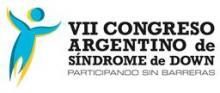 Logotipo del VII Congreso Argentino sobre Síndrome de Down
