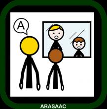 Icono de logopedia (ARASAAC)