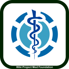 Wiki Project Med Foundation logo