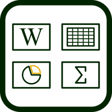 Office automation icon