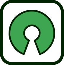 Open-source software icon