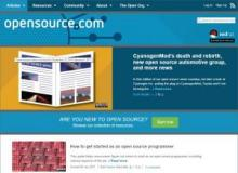 Opensource.com website image
