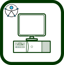 Accessible computer's icon