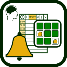 Products for alarming, indicating, reminding and signalling icon