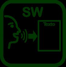 Icono de reconocimiento de habla