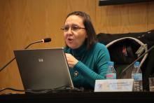 Imagen de la ponente M. Luz Congosto