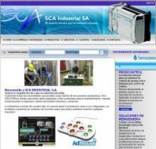 Imagen de la página web de SCA Industrial