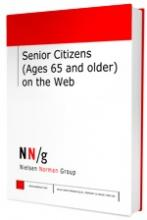 """Imagen de la portada de """"Senior Citizens (Ages 65 and older) on the Web"""""""