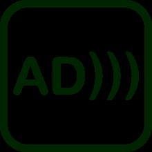 Icono de audiodescripción