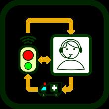 Telecare icon