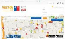 Imagen de la página web de Siga Chile
