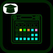 Icono de aprendizaje comunicación aumentativa