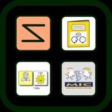 Picture language icon