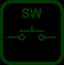 Icono de emulador de pulsador