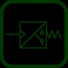 Símbolo del interruptor de presión