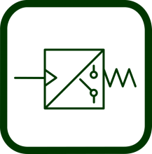 Pneumatic switch symbol