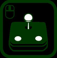 Icono de canalizador dactilar para ratones