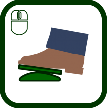 Footmouse icon