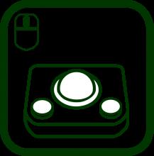 Icono de ratón de bola