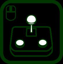 Icono de ratón de palanca