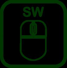 Icono de ratón virtual