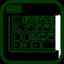 Icono de etiquetas braille