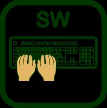 Icono de mecanografía