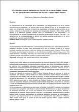 """Imagen del documento """"TIC y Educación Especial: Intervención con The Grid 2 en un caso de Parálisis Cerebral"""""""