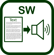 Text-to-speech icon