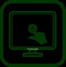 Icono de pantalla táctil