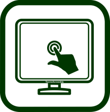 Touchscreen icon