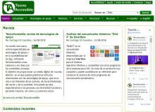 Imagen de la página web TecnoAccesible