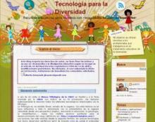 Imagen de la página web Tecnología para la Diversidad
