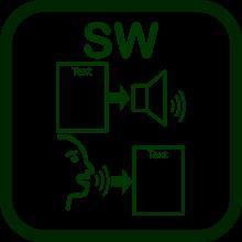 Speech technology icon