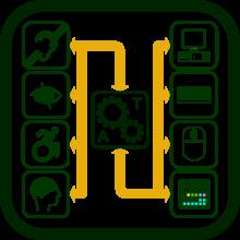 Icono de tecnologías de apoyo