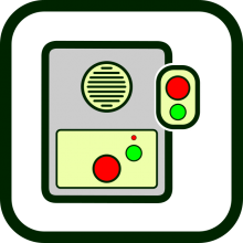 Telecare equipment icon