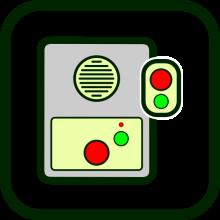 Icono de equipamiento de teleasistencia