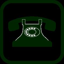 landline telephone icon