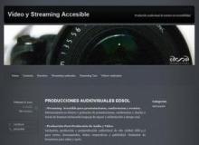 Página principal de Edsol Producciones