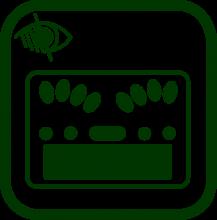 Braille notetaker icon
