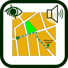 Acoustic guidance systems icon