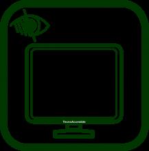 Icono de monitor de ordenador