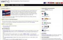 WAT-C website image