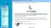 WWAAC Webpage image