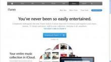 iTunes website image