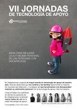 Imagen del póster de las VII Jornadas de Tecnología de Apoyo