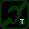 Icono de bucle de inducción