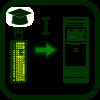 Icono de aprendizaje a los dispositivos de entrada