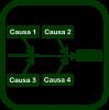 Icono de causa-efecto