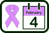 World Cancer Day icon